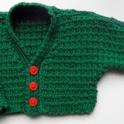 Cloud baby cardigan
