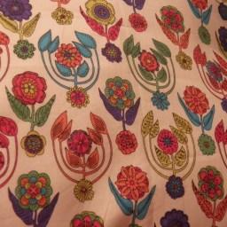 Liberty print cushion cover