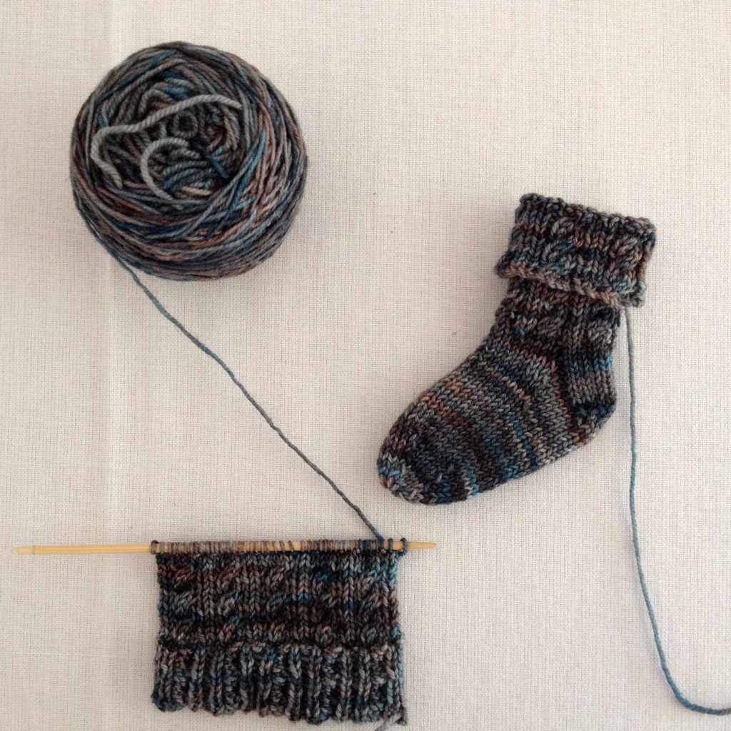 cable baby socks