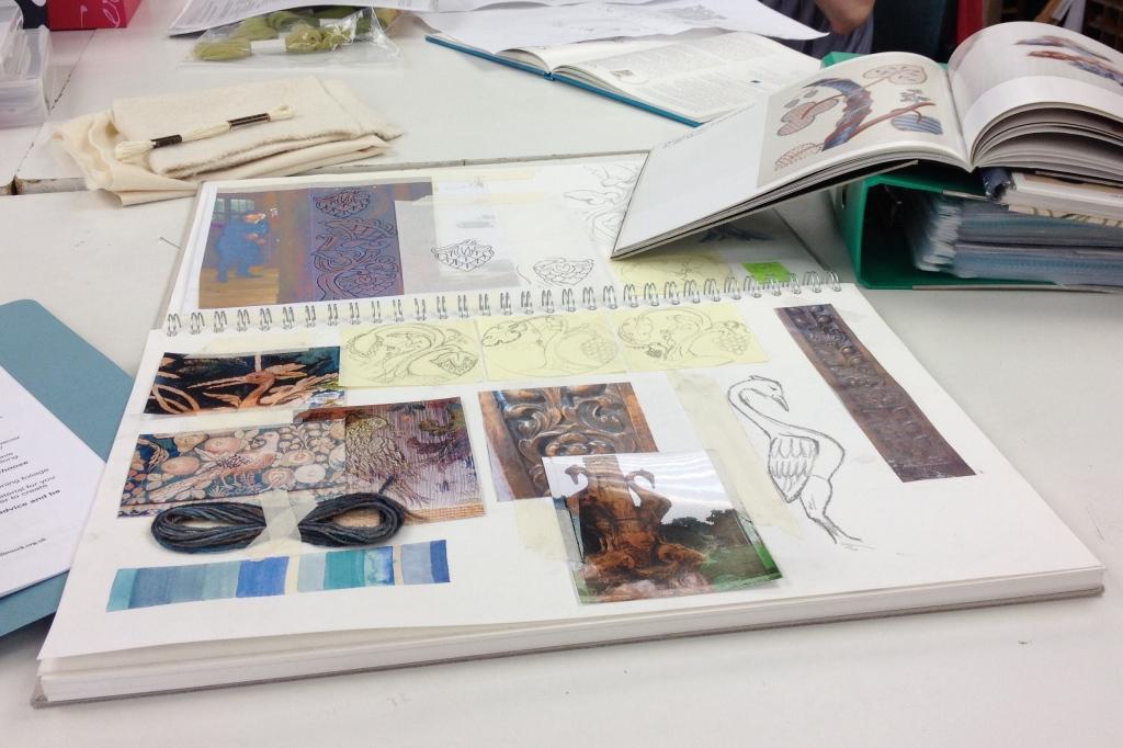 sketchbook progress at RSN