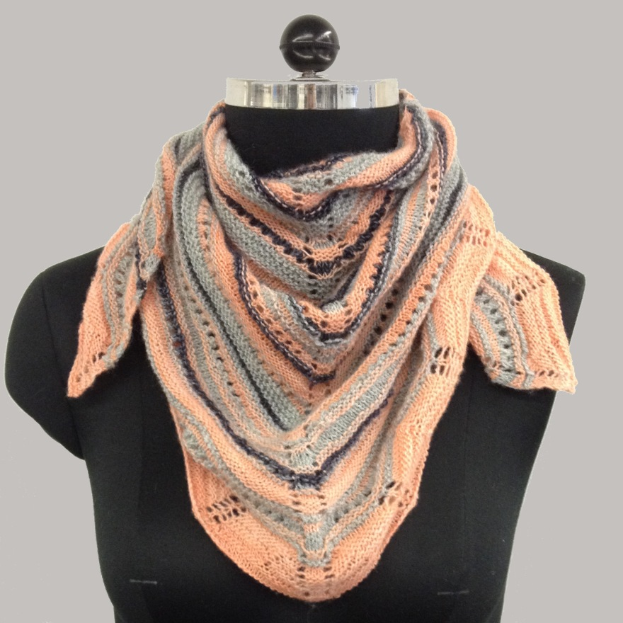 knitted lace merino scarf free pattern