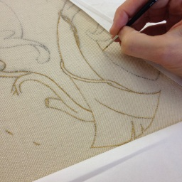 Jacobean Crewelwork – day 2