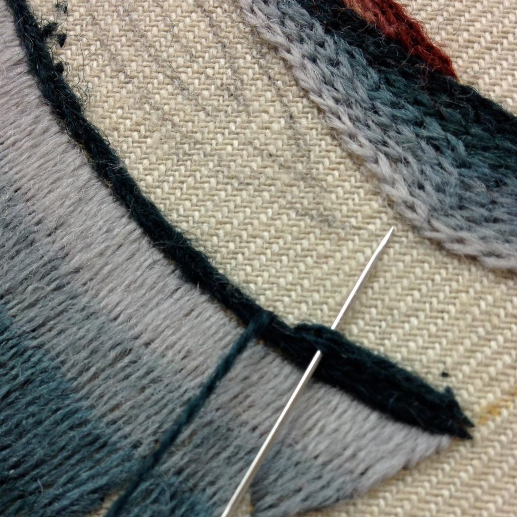 heavy chain embroidery stitch