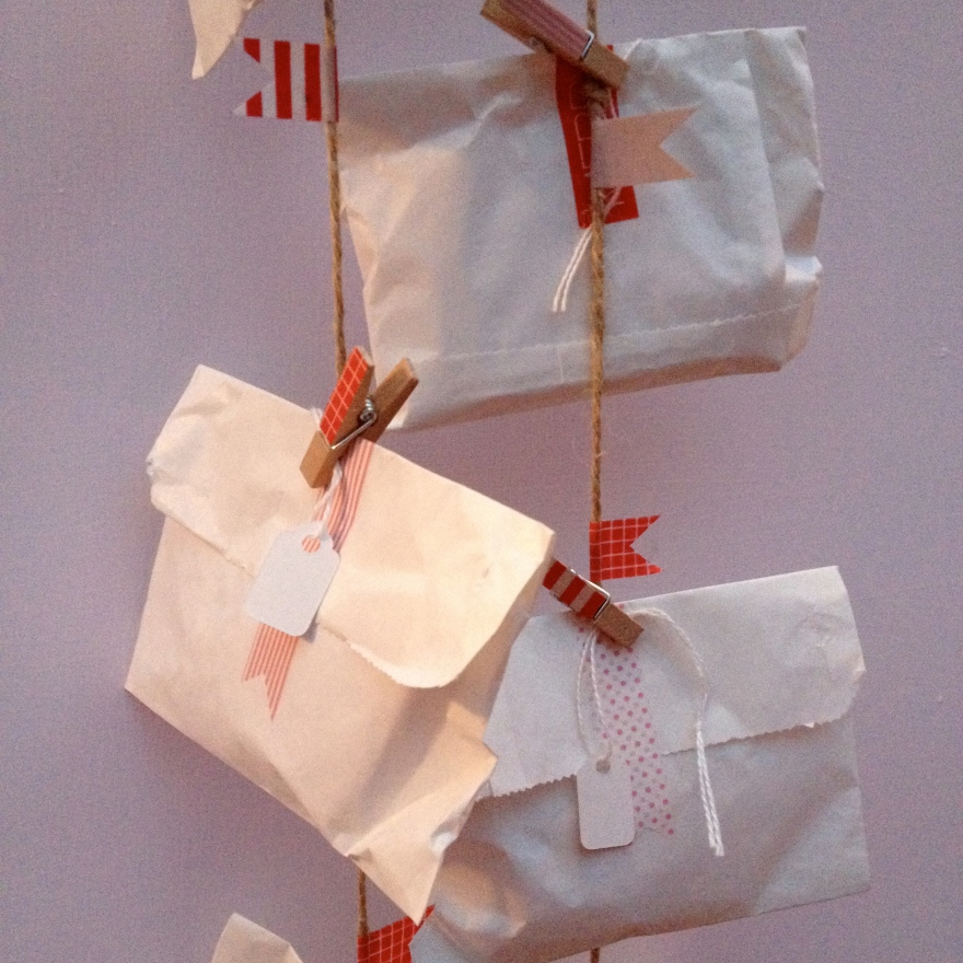 sweet shop bag advent calendar