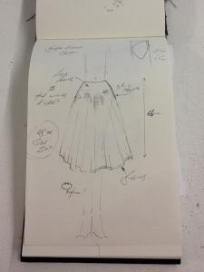 two circle skirt