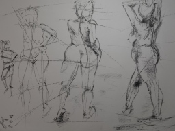 undergraduate life drawing
