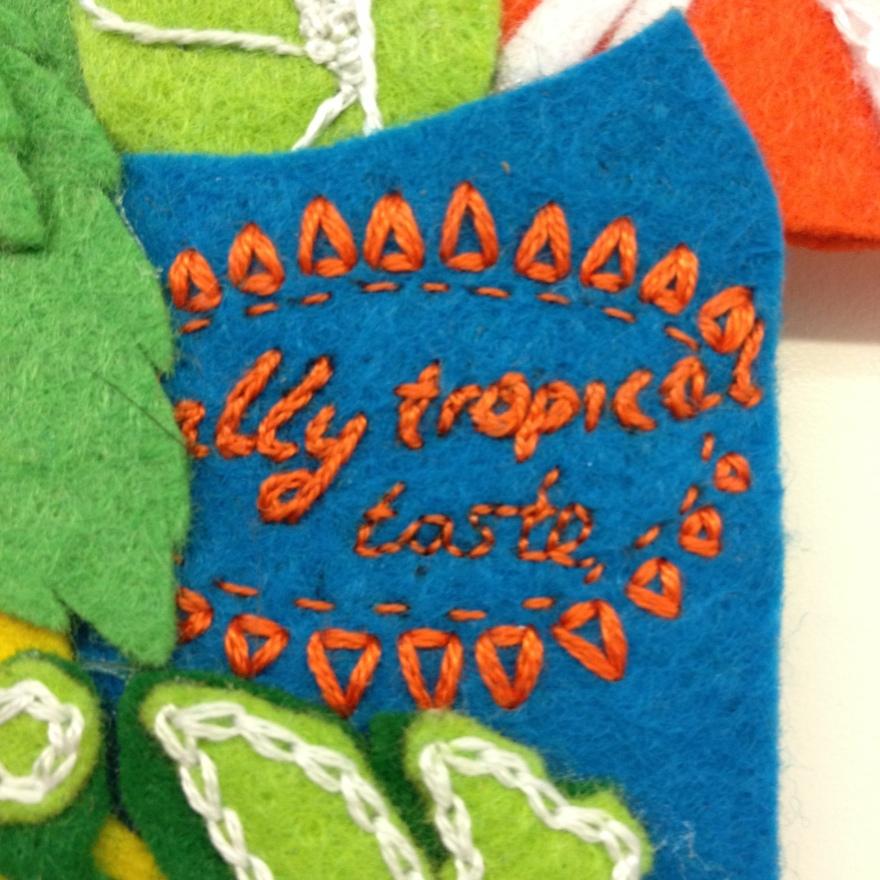 totally tropical taste stem stitch