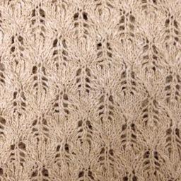 Multi stitch, linen yarn dress