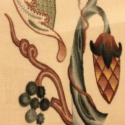 Assessment results: Jacobean Crewelwork