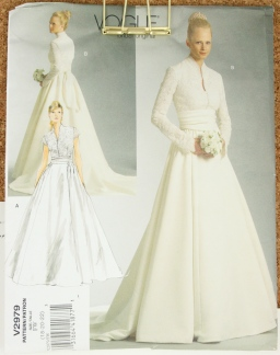 Embarking on making a wedding dress