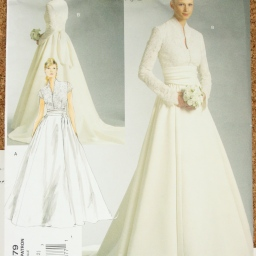 Embarking on making a wedding dress