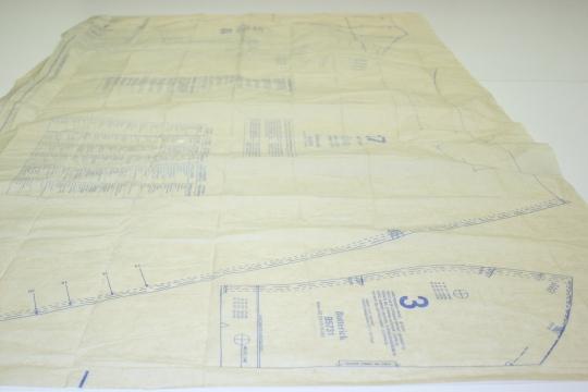 butte rick commercial dressmaking pattern